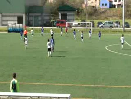 Primer gol Oriente B 3 Romanon C 1