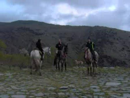 Rutas a Caballo de Alpujarra de la Sierra.