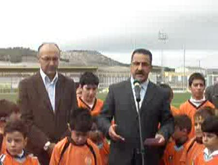 INAUGURACION NUEVOS CAMPOS DE FUTBOL EN ISCAR
