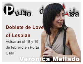 Punto de vista de Ver&oacute;nica Mellado: doblete de Love of Lesbian