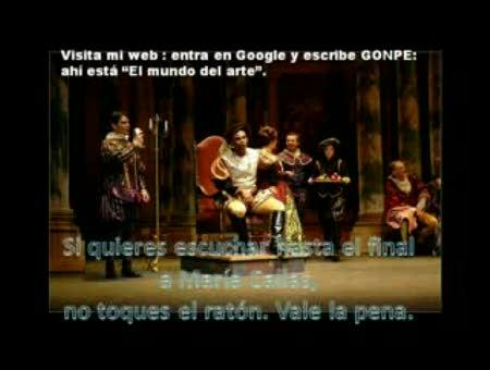 """"""" Rigoletto- María Callas Caro nome"""""""